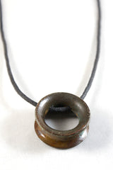 Small Round Thimble Necklace