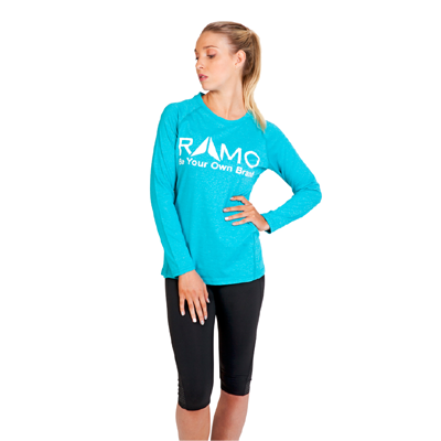 Ladies Long Sleeve performance Tee