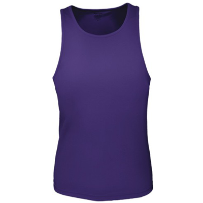 LADIES BRUSHED RAZOR BACK SINGLET