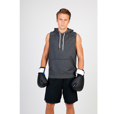 Men's Heather SLEEVELESS Hoodies