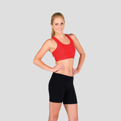 Ladies Sports Crop