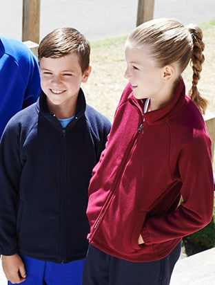 Kids Polar Fleece Zip Through Jacket