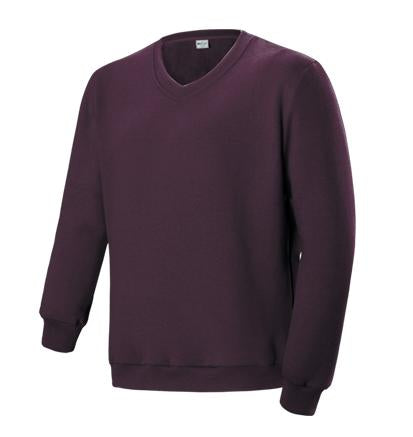 Unisex Adults V Neck Fleece Jumper