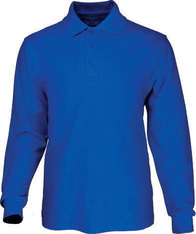 Kids Long Sleeve Basic Polo