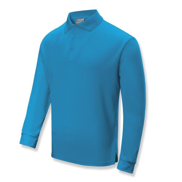 Kids Sun Smart Long Sleeve Polo