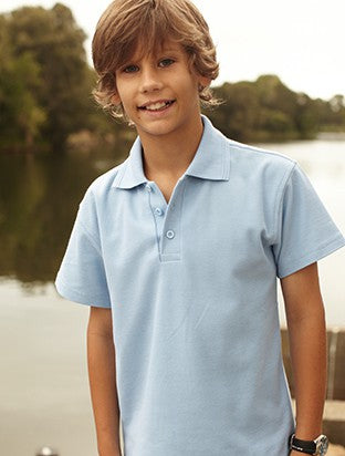 Kid's Poly Cotton Basic Polo