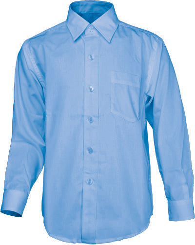 Boys Long Sleeve School Shirt