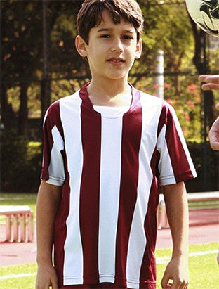 Kids Striped Football Jersey