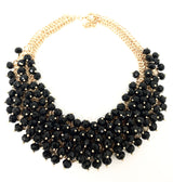 Beaded Radiance Statement Necklace