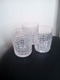 Fine drinking glasses