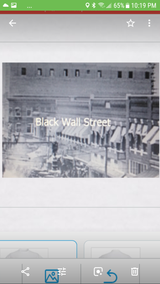 Black Wall Street apparel