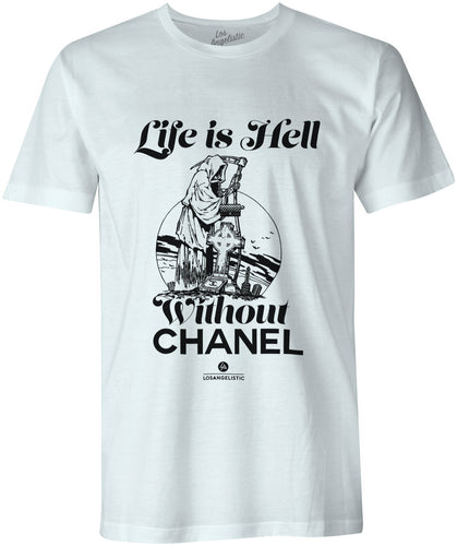 life is hell mens tee