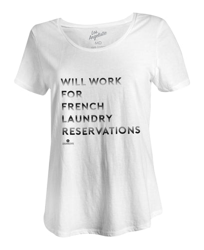 french laundry womens scoop tee