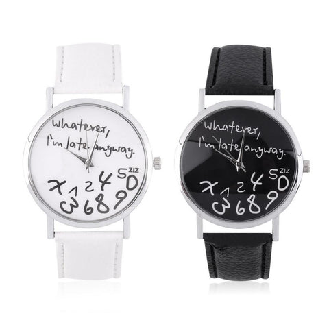 Fashion Stainless Steal and Quartz Wristwatch