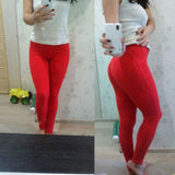 Fit and Fun Low Waist Push Up Leggings
