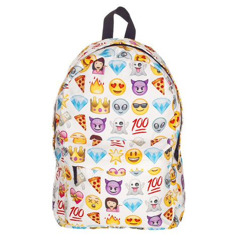 Emoji 3D Travel  School Bag