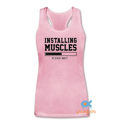 INSTALLING MUSCLES Women Tank Top