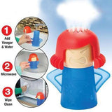 New Angry Mama Microwave Cleaner Cooking Kitchen Gadget Tool