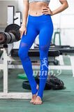 Playful Hollowed Out Women Sport Fitness Leggings
