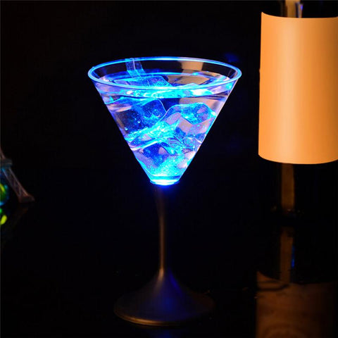 250ml LED Auto Color Changing glass