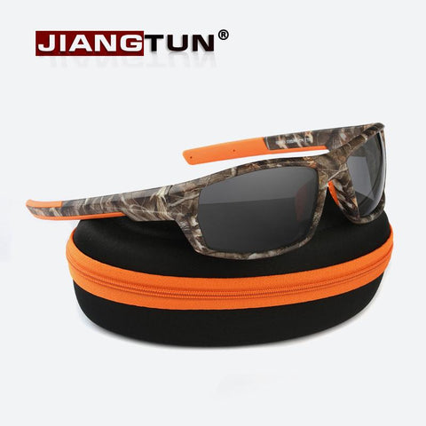 Camo Black Polarized Sunglasses