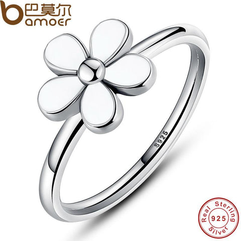 Flower 925 Sterling Silver Darling Daisy Ring