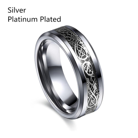 Dragon Tungsten steel Ring for Men & women
