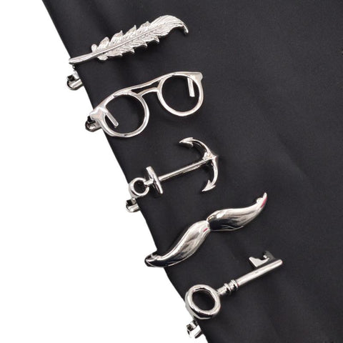 Metal Fashion Tie Clips for Men