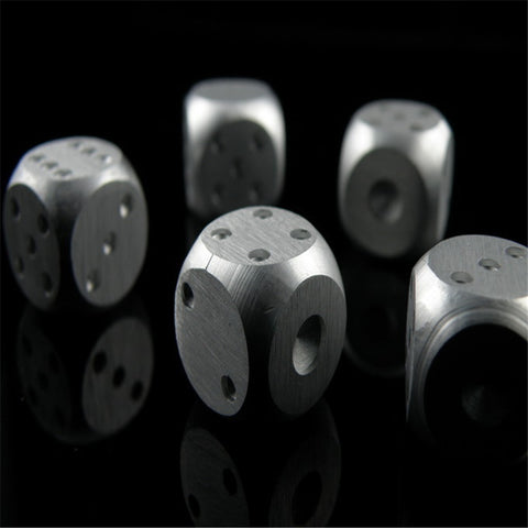 Stainless steal dice cubes