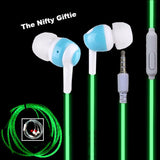 Glow In The Dark In-Ear Earbuds