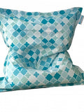 Extra Large Teal Bean Bag - Body & Soul Beanbags