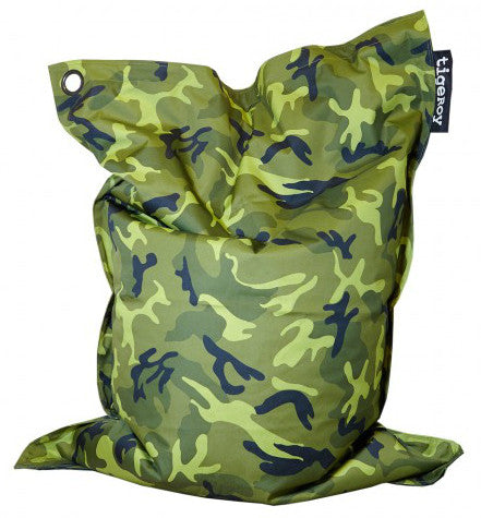 Tigeroy Large Camouflage Indoor Outdoor Bean Bag - Body & Soul Beanbags