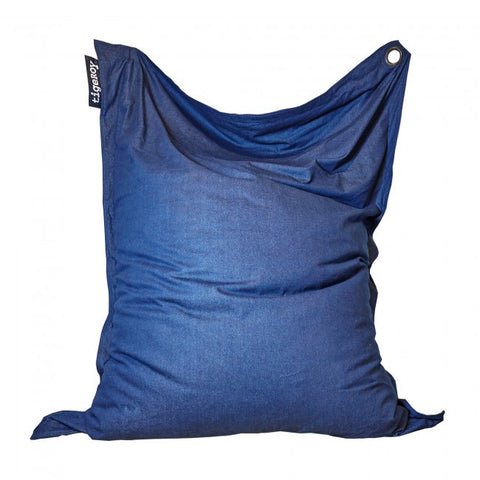 Tigeroy Extra Large Dark Denim Bean Bag - Body & Soul Beanbags