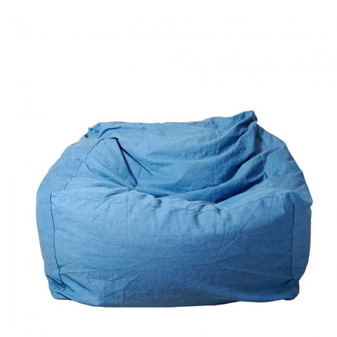 Tigeroy Light Denim Seated Bean Bag - Body & Soul Beanbags