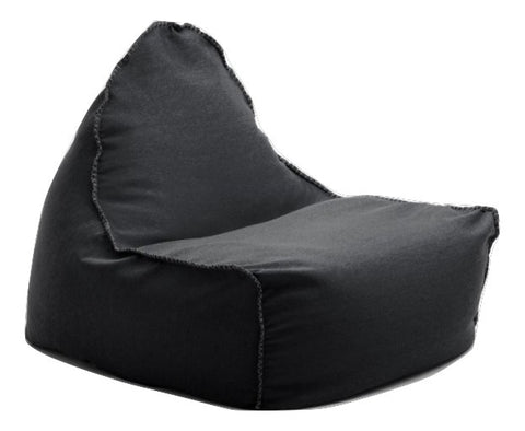 Dark Grey Sukee Bean Chair - Body & Soul Beanbags
