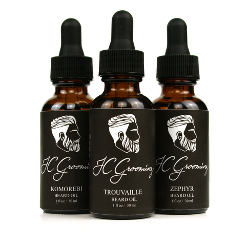 Beard Oil Variety Kit - The Gentlemen's Lounge