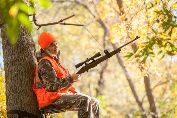 The SkyRest Tree Stand Shooting Rest