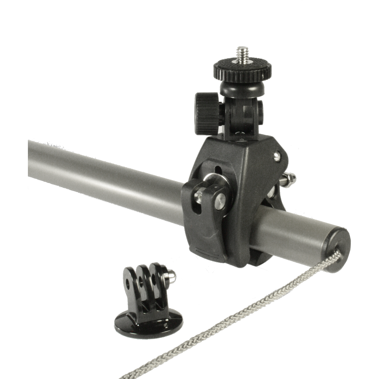 Camera/action camera mount for the SkyRest Overhead Shooting Rest