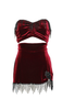 NEW RELEASE! Burlesque Ruby Rose Velvet Mini Memoire Set