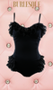 BURLESQUE BOUDOIR PLAYSUIT