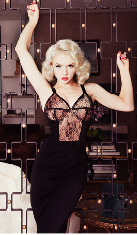 MANHATTAN LINGERIE DRESS