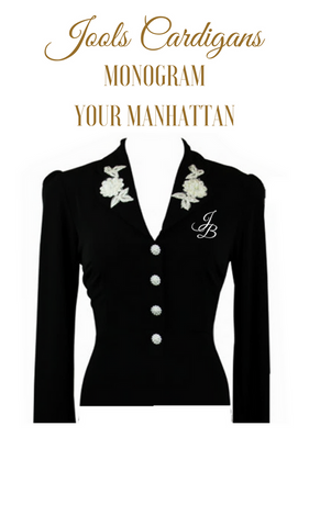 MONOGRAM Your Manhattan Cardigan