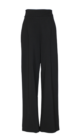 MANHATTAN 1940s BLACK LOUNGE PANT
