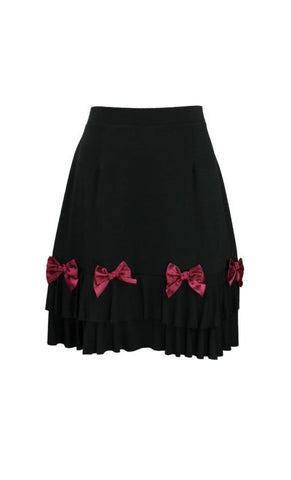 BABY DOLL ROUGE BOW SKIRT