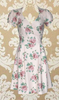 JC Signature Cap Sleeve Tearose Dress