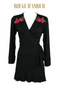ROSE D'AMOUR DRESS ROBE