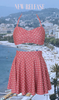 Riviera Blush Dot Swim Trio Set
