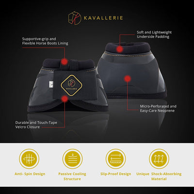 Pro-K Soft No Turn Bell Boots - Kavallerie
