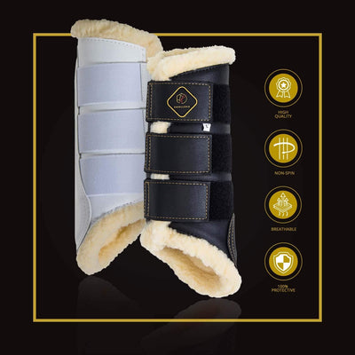 Fleece-Lined Dressage Boots