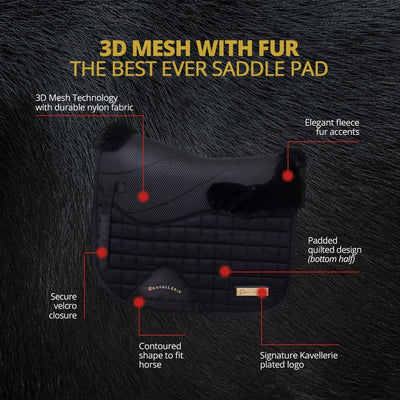Full 3D Mesh with Fur Saddle Pad